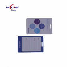 13.56MHz Comaptible 1K F08 RFID PVC Key card 42x26MM