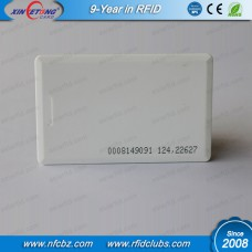 125KHZ TK4100 RFID  Thickness Proximity Clamshell Card