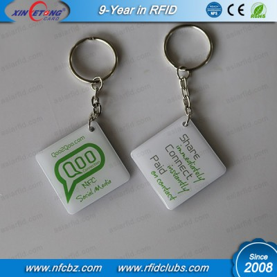 35x35MM NTAG213 NFC Hang Tag 144byte