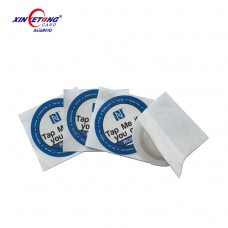 NFC STICKER ANTI-METAL NTAG215 30MM ROUND
