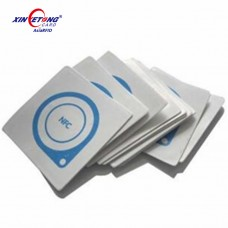 25MM Compatible 1K Blank PVC Tag with 3M adhesive