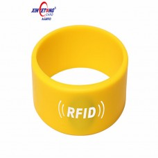 ISO14443A Compatible 1K F08 RFID Silicone Wristband with Unique Number